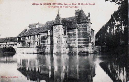 chateau de Victot Pontfol